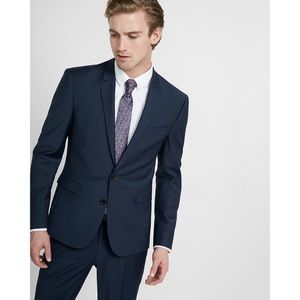 Men's Express Extra Slim Black Stretch Suit Jacket